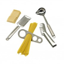 Spaghetti-set, 4 pcs., stainless steel