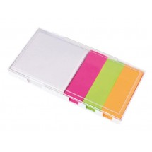 "Memobox ""Note"", white / transparent"