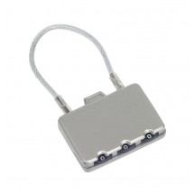 "Combination lock ""Close"" metal, silver"