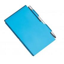 """Notebookholder """"MEMO"""", blue"""