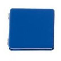 "Pocket mirror ""LOOK AT ME"", blue"