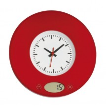 "Kitchenscale ""Time"", red"
