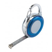 Tape measure 'DISTANCE', blue