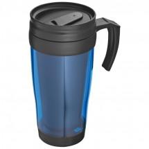 Kunststof drinkbeker met afsluitbare deksel- 0,4L - blauw