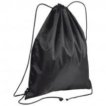 Gym bag van polyester - zwart