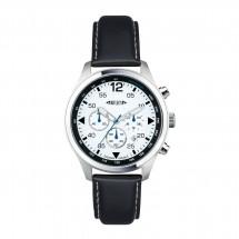 Chronograph REFLECTS-PILOT zwart/wit