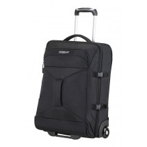 American Tourister Road Quest 2 Compartments Duffle with wheels 55-Solid Zwart