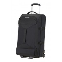 American Tourister Road Quest 2 Compartments Duffle with wheels 69-Solid Zwart