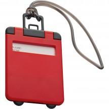 Kofferlabel Kemer-rood