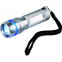 CREE® LED-lamp 3W MULTIFUNCTIONEEL - zilver