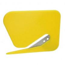 Briefopener, groot - geel