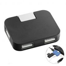 USB-Hub - zwart