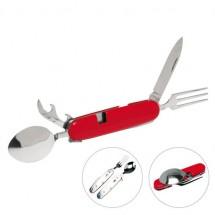 Multi Tool, vork en lepel - rood