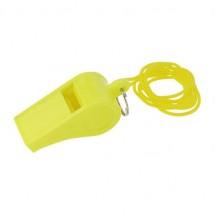 Fluit met koord - geel