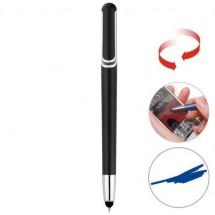 Touchscreen balpen met draaimechanisme - zwart
