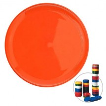 Frisbee Jupiter, stapelbaar - oranje