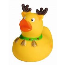 Badeend Kerst-eland - geel