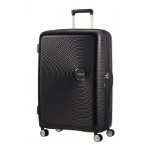 American Tourister Soundbox Spinner 77 EXP.-Bass Zwart