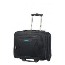 American Tourister AT Work Rolling Tote 15.6''-Zwart