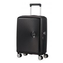 American Tourister Soundbox Spinner 55 EXP.-Bass Zwart