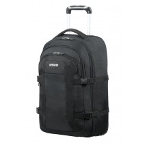 American Tourister Road Quest Laptop Backpack with wheels 15.6-Solid Zwart