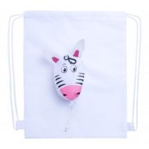 Trektouw Tas, Zebra ''Kissa'' - Wit
