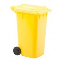 penhouder ''Dustbin'' - geel