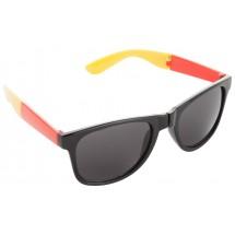 Zonnebril ''Mundo'' - zwart/rood/geel