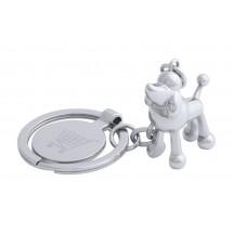 Winkelwagenmuntje Sleutelhanger, Hond ''Hoinzo'' -