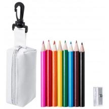 kleurpotloden set ''Migal'' - wit