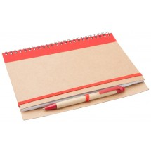 Notebook ''Tunel'' - Rood