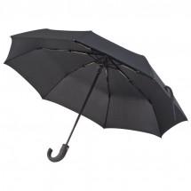 Ferraghini opvouwbare paraplu met handvat - zwart