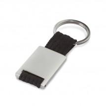 Metalen sleutelhanger TECH - zwart