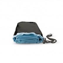 Sporthanddoek in nylon zak DRYE - blauw