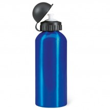 Metalen bidon 600 ml BISCING - blauw