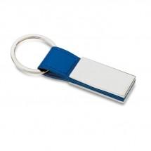 Klassieke sleutelhanger RECTANGLO - blauw
