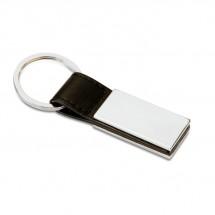 Klassieke sleutelhanger RECTANGLO - zwart