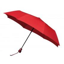 miniMAX® opvouwbare paraplu, automaat, windproof-rood