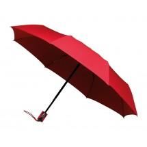 miniMAX® opvouwbare paraplu auto open + close-rood
