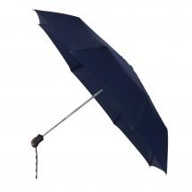 miniMAX® opvouwbare paraplu auto open + close-blauw