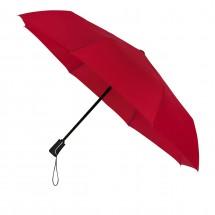 opvouwbare paraplu auto open + close + optie doming-rood
