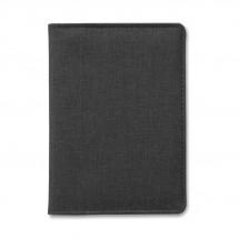 Paspoort etui, 2 tone SHIELDOC - black