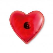 Handwarmer in hartvorm WACO - rood