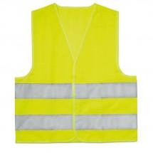 Kinder zichtbaarheidsvest MINI VISIBLE - geel