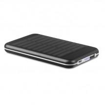PowerBank 4000 mAh SOLARFLAT - zwart