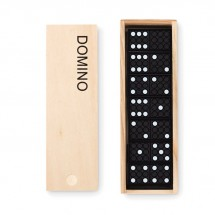 Houten dominospel DOMINO - wood