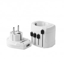 PRO World & USB. 3-pole PRO WORLD & USB. 3-POLE - white