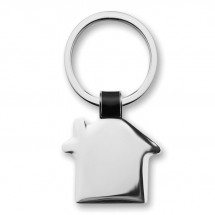 Sleutelhanger in huisvorm HOUSY - zwart