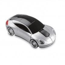Autovormige draadloze muis SPEED - mat zilver