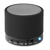 Bluetooth-luidspreker ROUND BASS - zwart